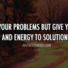 You are the Solution – Simple Answers